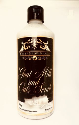Goat milk and Oats Scrub 500g